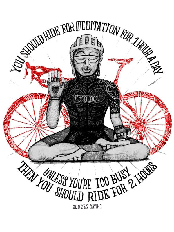 Drawn quote bike Maintenance Art on images of