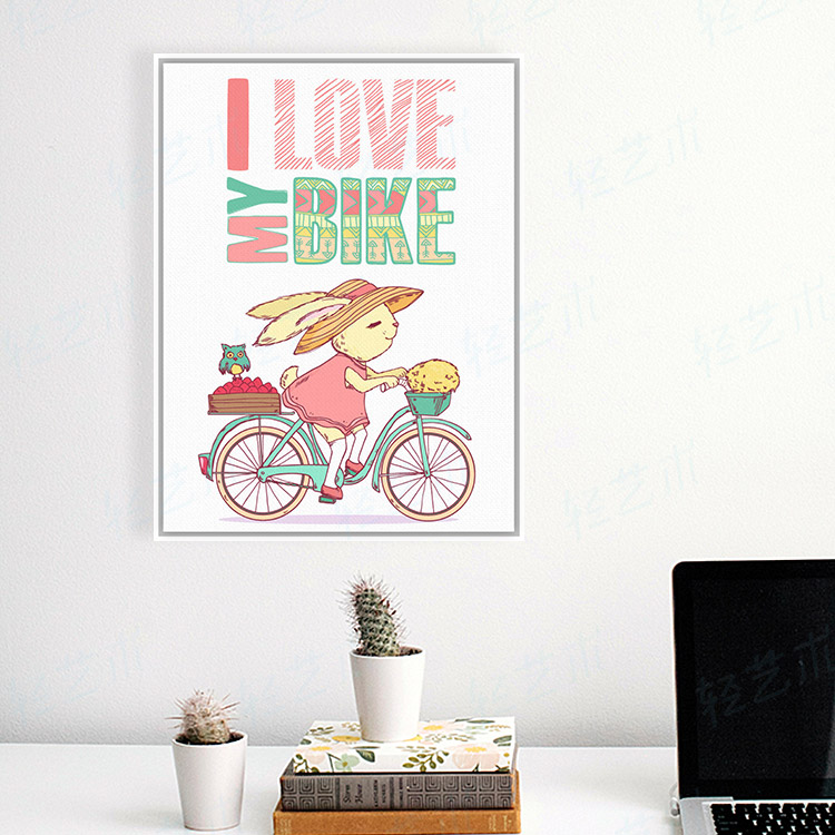 Drawn quote bike Prints bike Rectangle Quotes Typography