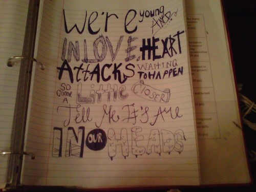 Drawn quote bring me the horizon And on images this The