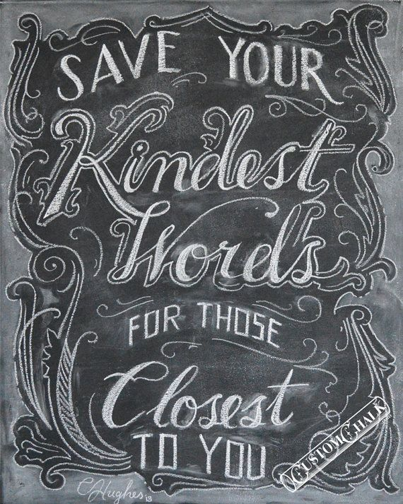 Drawn quote chalk Best chalk hand Pin lettering
