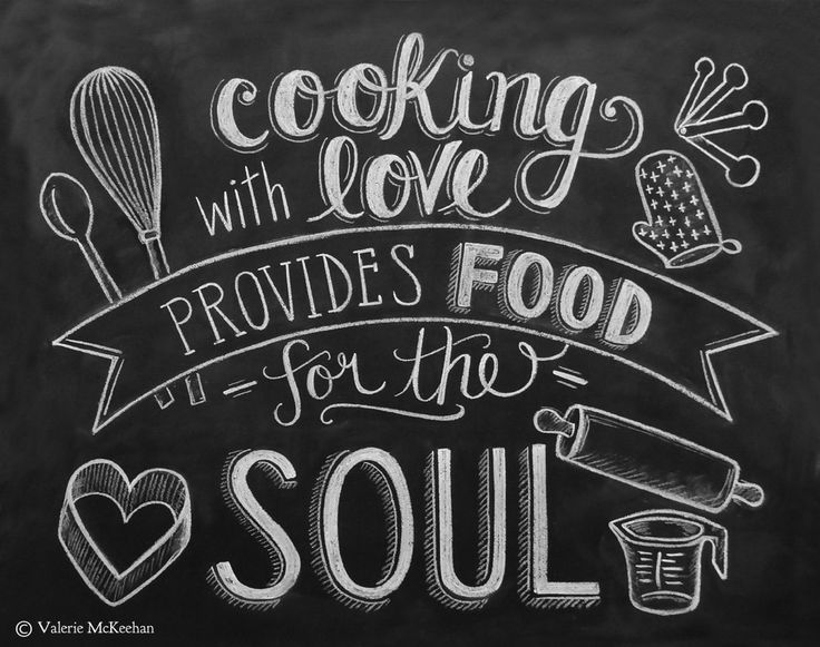 Drawn quote chalkboard Wallpaper Magazine In Pinterest Food