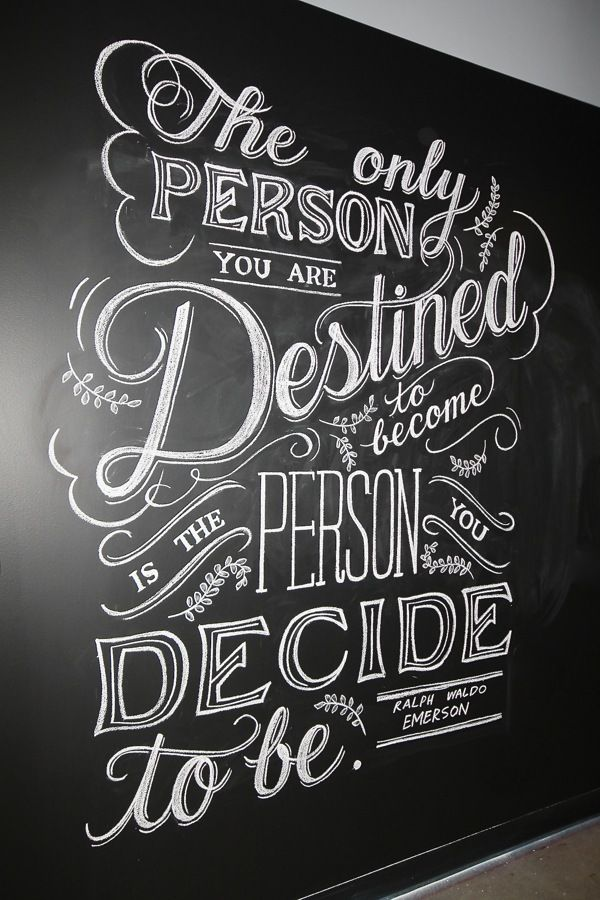 Drawn quote chalkboard Paulson Behance ideas on 25+
