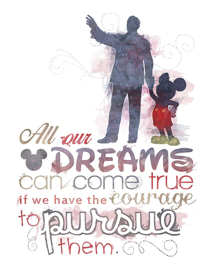 Drawn quote disney movie Pinterest 8x10 / Printable Instant
