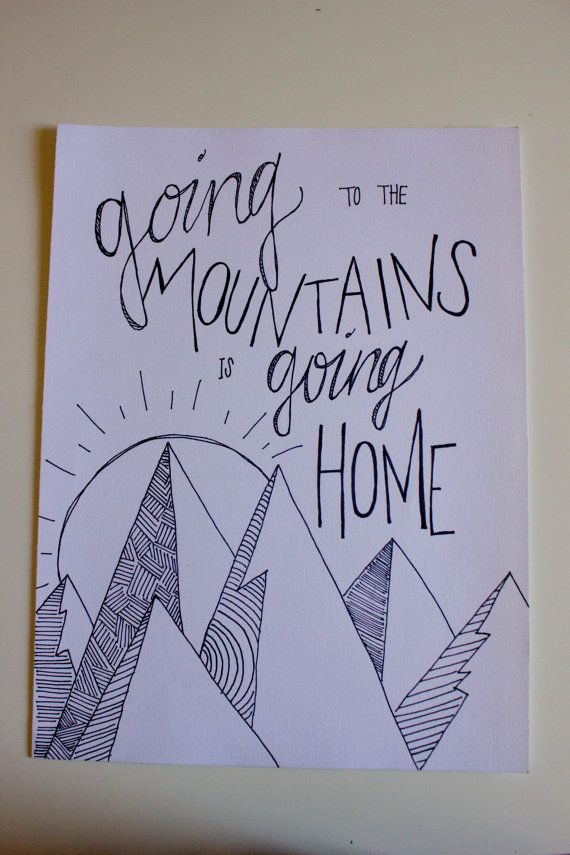 Drawn quote drawing 1497 Your Mountains on best