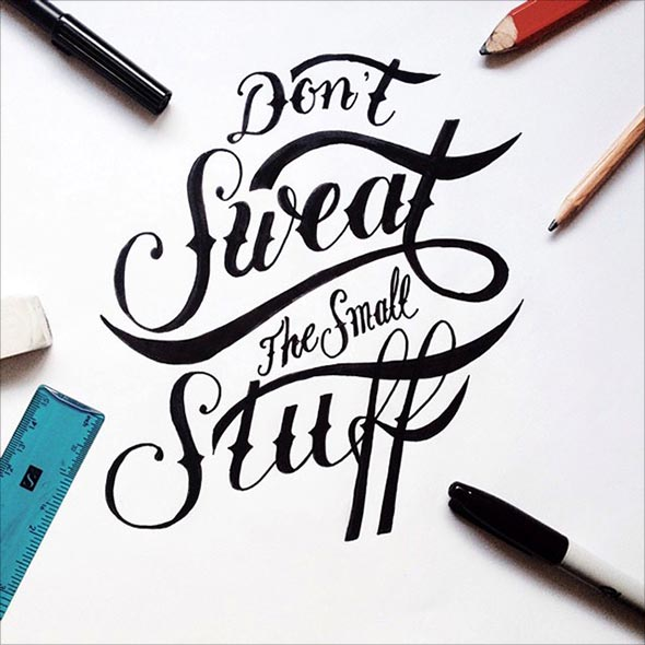 Drawn quote hand lettered (11) Ian Quotes 65+ Motivational