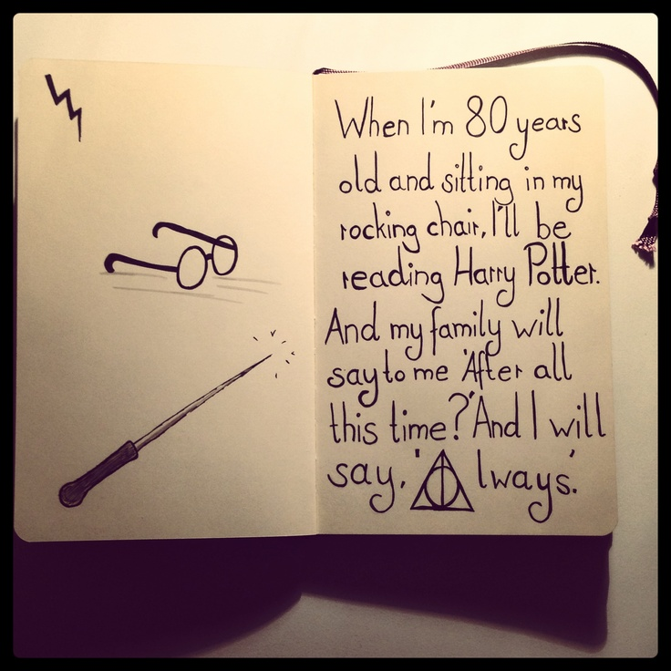 Drawn quote harry potter On Rickman! GedankenMuse) (by Awesome