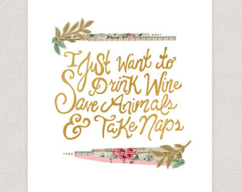 Drawn quote imperfect Save Beauty Drink Art and