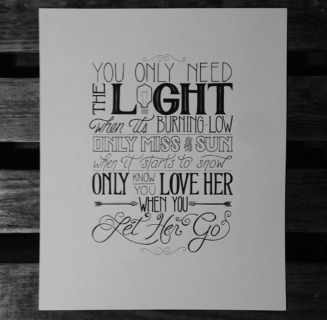 Drawn quote letting go This best go on Pinterest