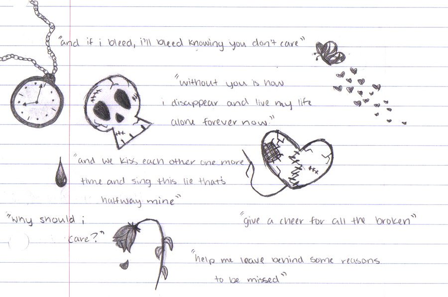 Drawn quote life Cute Drawn Quotes Cute Drawn