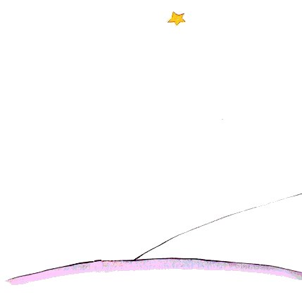 Drawn quote little prince Saint Little Antoine The