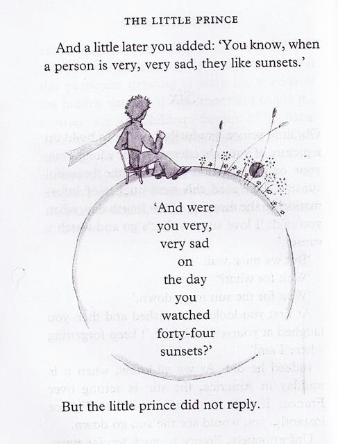 Drawn quote little prince Favorites 58 Exupery my Pinterest