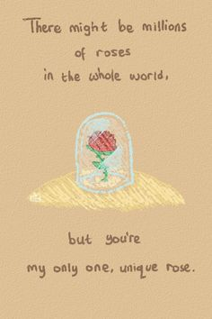 Drawn quote little prince From The prince rose❤ Art