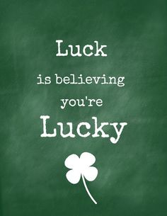 Drawn quote lucky In service Luck health) luck