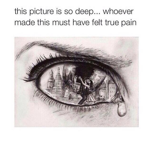 Drawn sad happiness Drawings Drawings Pinterest Drawings ✨•