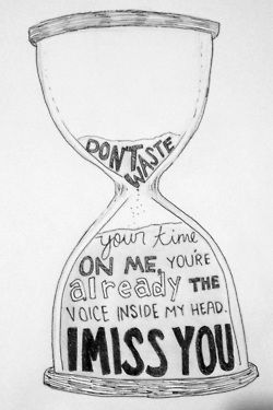 Drawn quote miss you • 97 images art Projects
