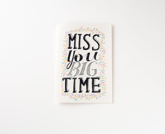 Drawn quote miss you Because Card Miss Relationship I