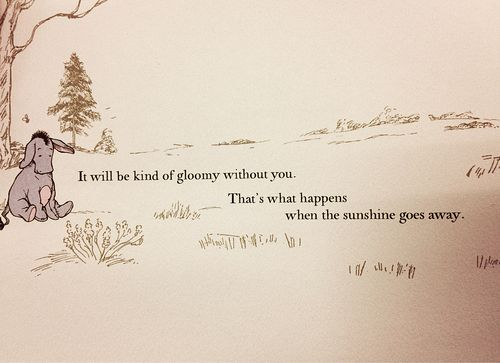 Drawn quote miss you The sunshine quotes be Best