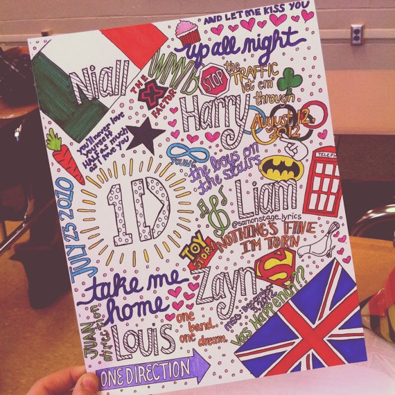 Drawn quote one direction song 25+ direction Pinterest One