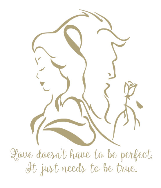 Drawn quote prettiness And Disney beast  the