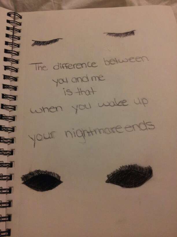 Drawn quote saying It had Felt out to