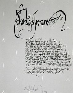 Drawn quote shakespeare Drawn
