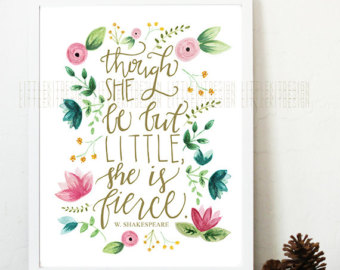 Drawn quote shakespeare She Though Calligraphy She quote