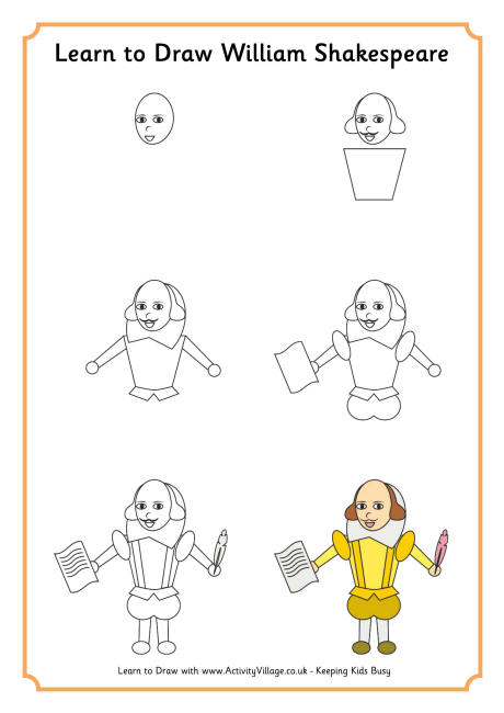 Drawn quote shakespeare For Shakespeare Printables Kids Shakespeare