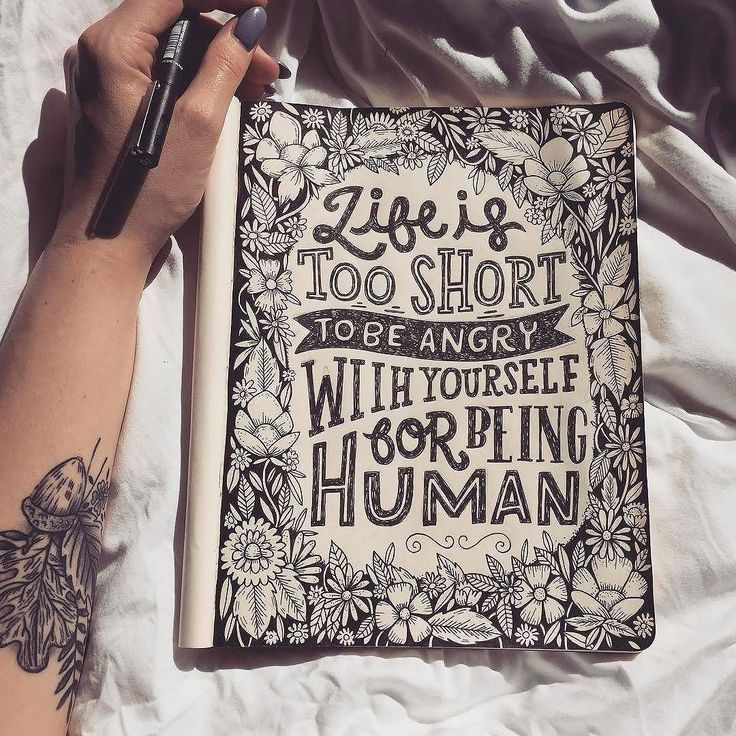 Drawn quote short On Pinterest quotes Best Drawing