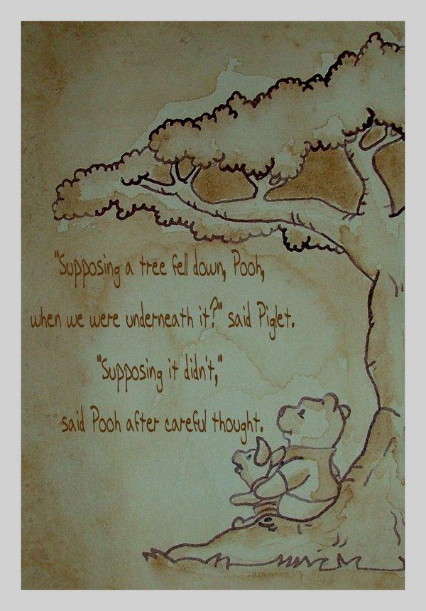 Drawn quote winnie the pooh Twixiebug Winnie Winnie the DeviantArt