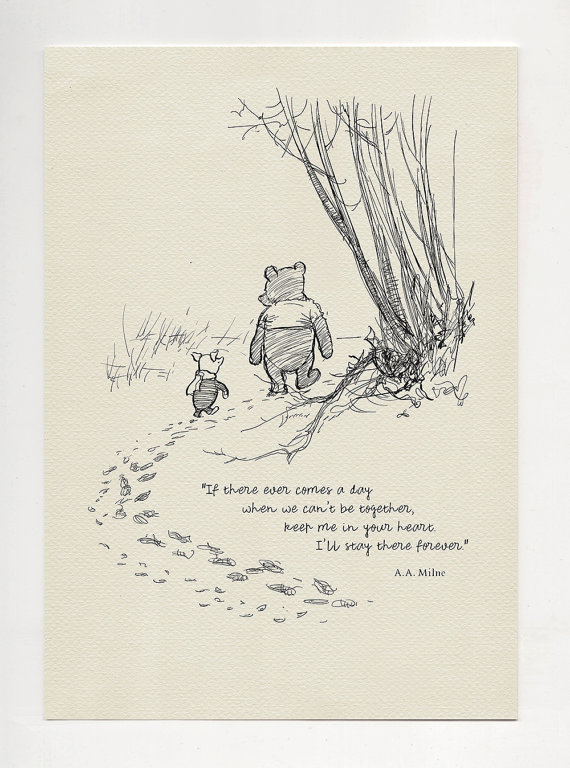 Drawn quote winnie the pooh Pooh quote quote print quality