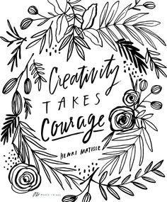 Drawn quote word art Printable Pinterest @alimakesthings by Present
