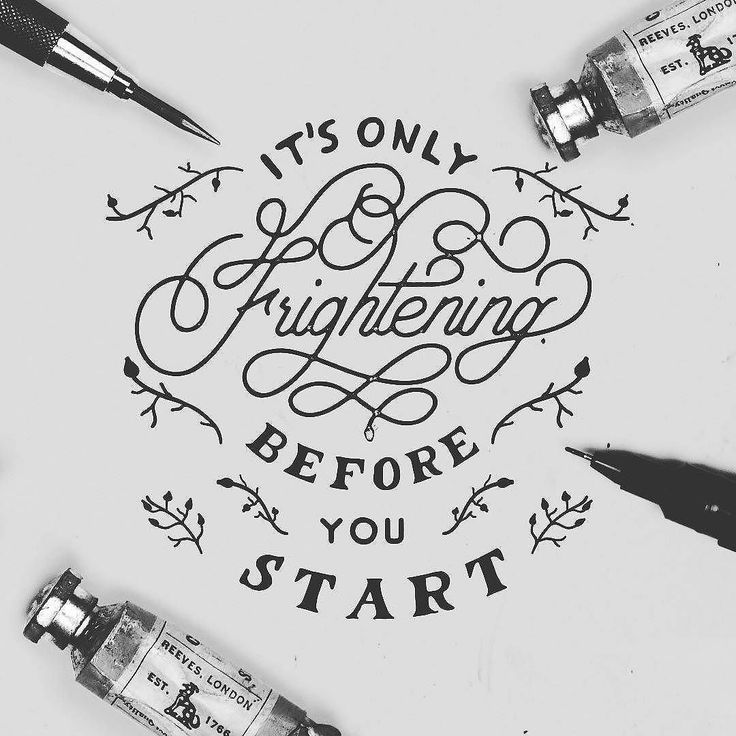 Drawn quote word art InspirationDesign R+F images best @willpat