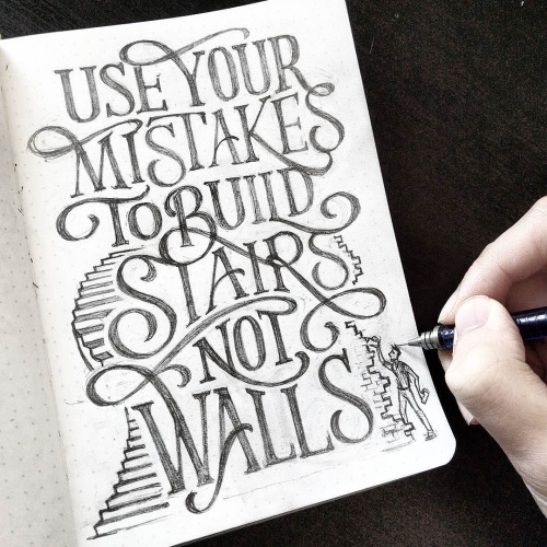 Drawn quote word art #lettering by Work #typography
