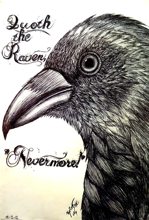 Drawn quoth The on Raven by Chan