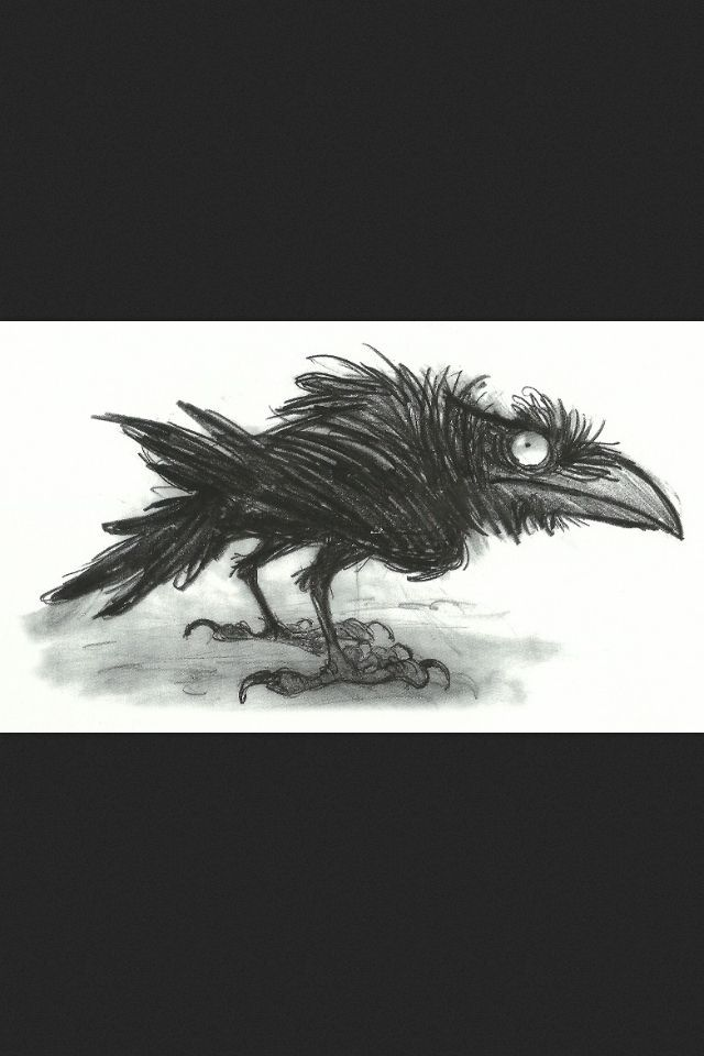 Drawn quoth On images Pinterest Quoth Raven