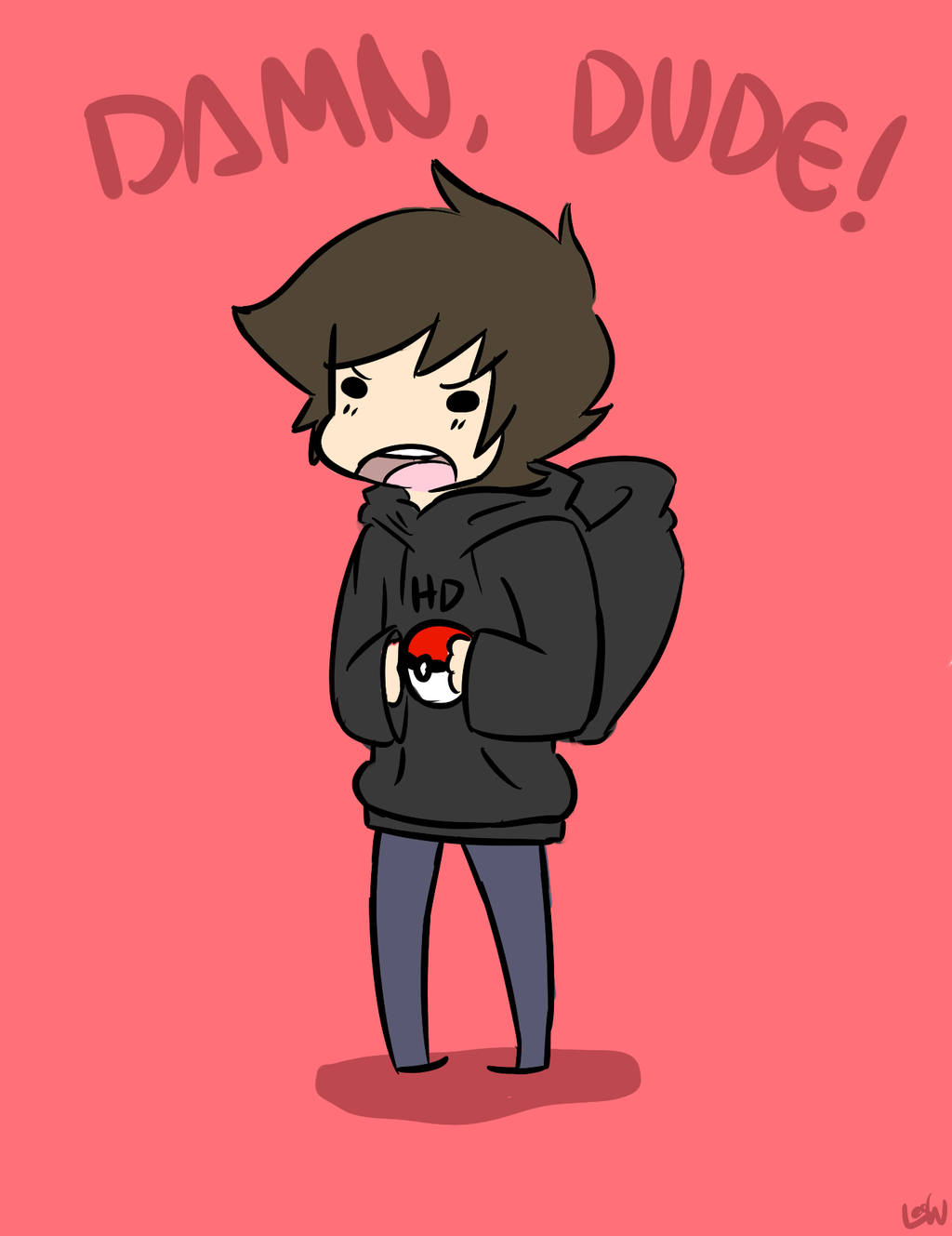 Drawn quoth ImmortalHD LeoMakesDoodles by Quoth by