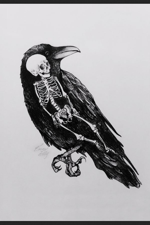 Drawn quoth Quoth ravens the `Nevermore crows