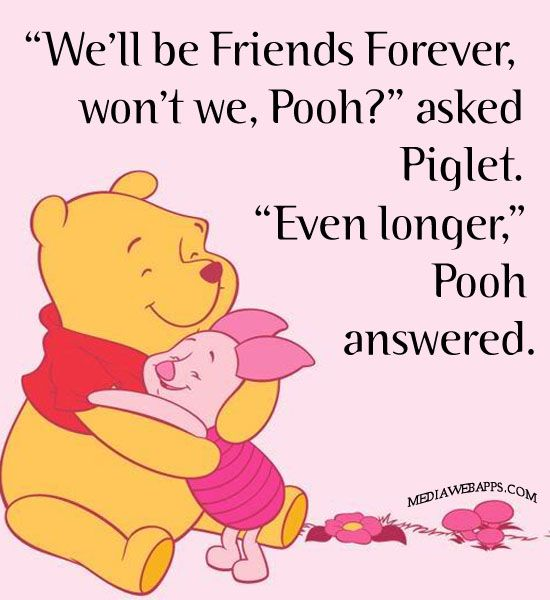 Quoth clipart friendship Ideas friends Winnie