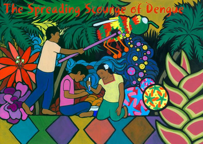 Drawn quoth dengue  Science Dengue Notes of