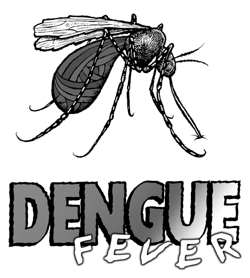 Drawn quoth dengue  Dengue