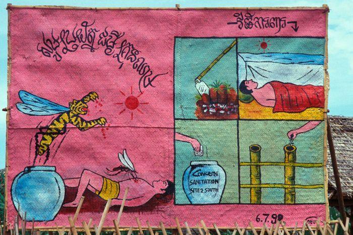 Drawn quoth dengue War An NGO's borne Khmer