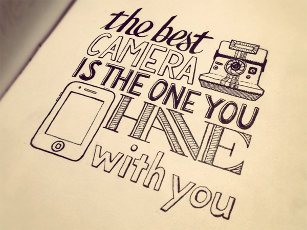 Drawn quote hand lettered Behance Hand  Quotes on