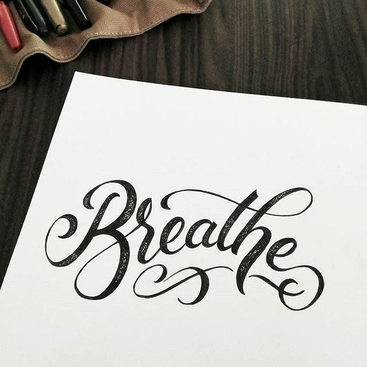 Drawn quote typography art Best More Pinterest drawn on
