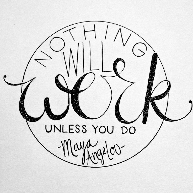 Drawn quote positive Do ~Maya #entrepreneur Pinterest images