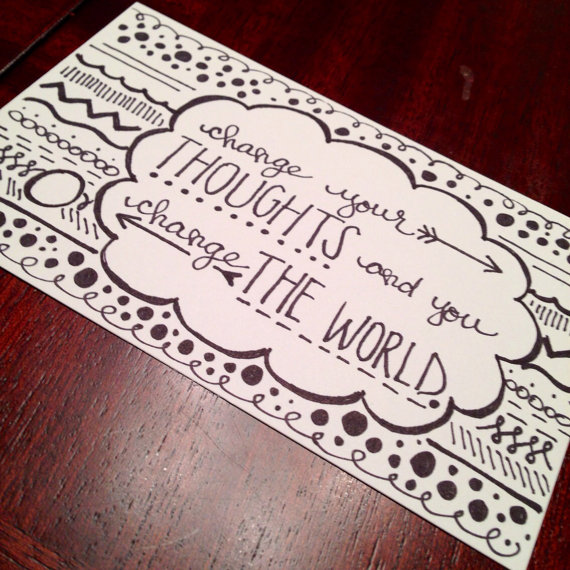 Drawn quote drawing Doodles drawn quote Inspirational $8