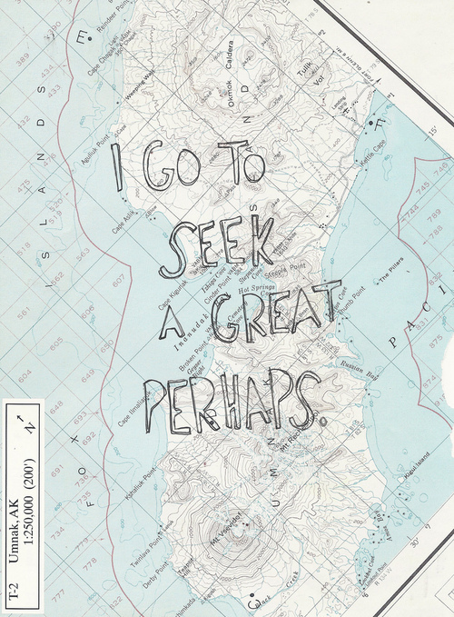 Drawn quote john green To perhaps hand perhaps /