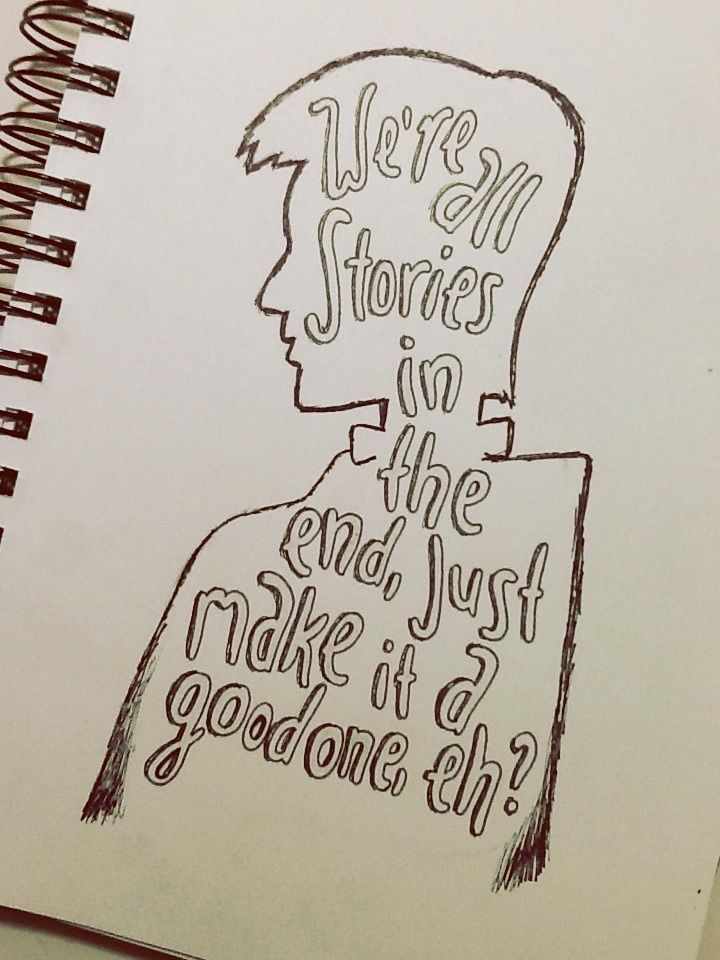 Drawn quote pinterest Ideas drawing Doctor Eleven on