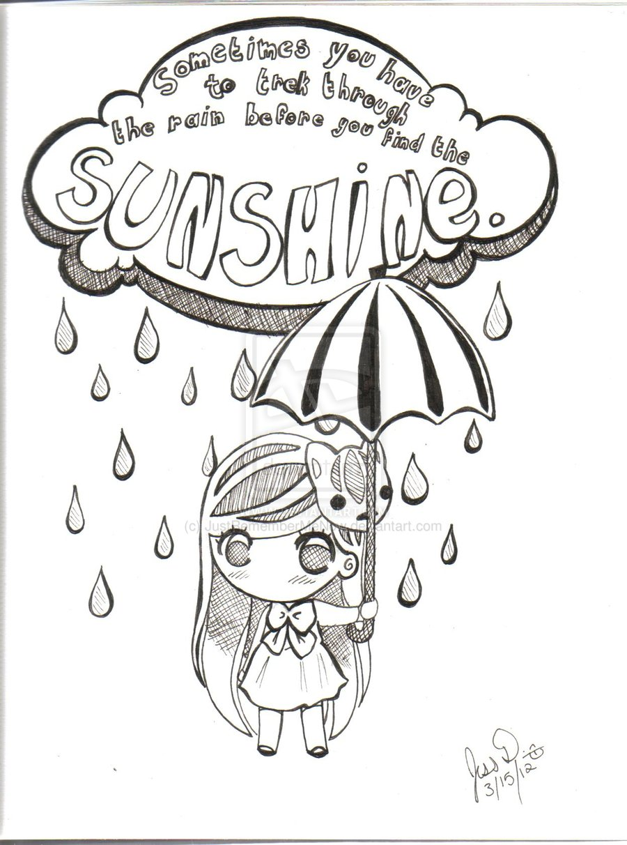 Drawn quoth positive Drawing About Quotes Inspirational QuotesGram