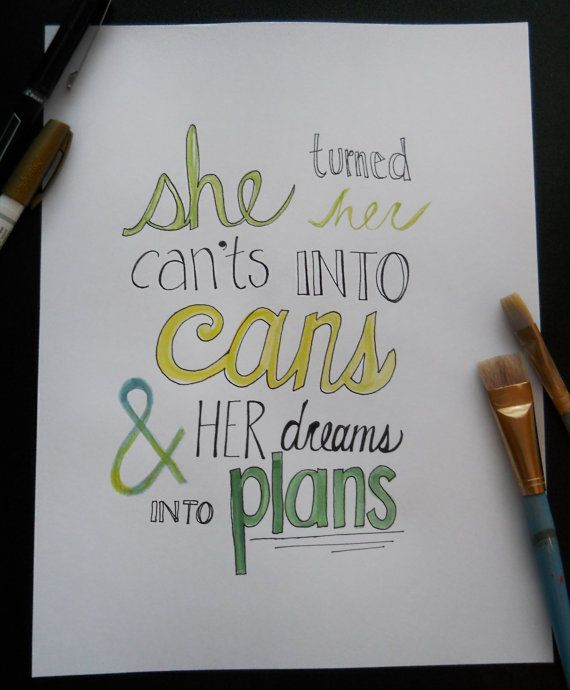 Drawn quote artsy Quote Color images Pinterest by