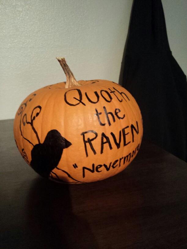 Drawn quoth saturday  Halloween Pumpkin Allen Pumpkin